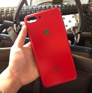 iPhone case red edition 7+/8+ under 50k