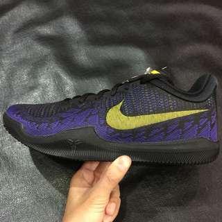 🚚 NIKE MAMBA RAGE EP KOBE 黑紫黃 XDR耐磨底 籃球鞋 908974-024