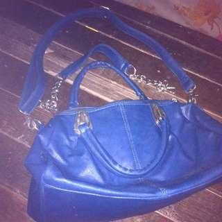 rossi leather shoulder bag