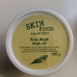 SkinFood Rice Wash Off Mask