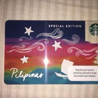 Starbucks Limited Edition Vinta Card