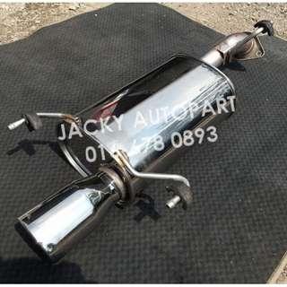 "Muffler Exhaust FGK Fujitsubo Wagolis 2.3"" Japan"