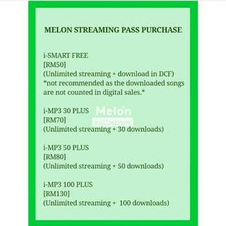 Melon Streaming Pass Purchase