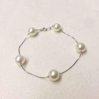 18K Pearl Bracelet