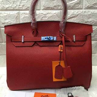 AUTHENTIC OVERRUN QUALITY HERMED BIRKIN BAG ✔️togo leather ✔️35 cm