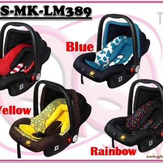 E-CS-MK-LM389: Stylish 3 in 1 Infant Baby Car Seat