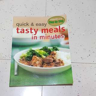 Cook Book - Tasty Meals in Minutes