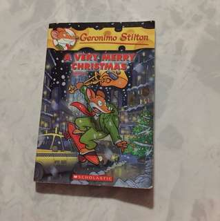 Geronimo Stilton A Very Merry Christmas