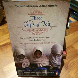 Three Cups of a Tea