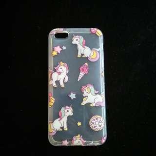 Case iphone 5c unicorn bening softcase