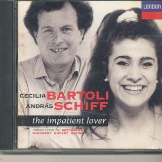 Cecilia Bartoli - The Impatient Lover Italian Songs by Beethoven, Schubert, Mozart, Haydn (CD) [z1]