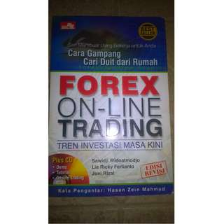 "BUKU ""Forex On-:ine Trading"""