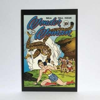 Art of Vintage DC Comics Postcard - Wonder Woman 03