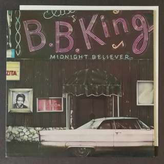BB king original LP record
