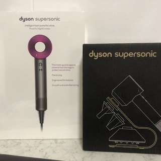 Dyson hair dryer + stand