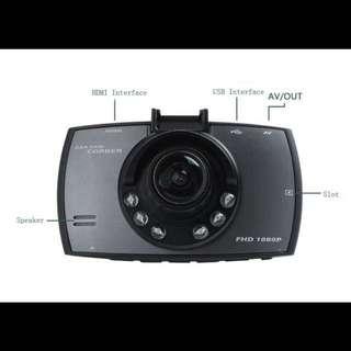 Car Camcorder (G30 FHD 1080P Car DVR Camera 6 LED P711 Camcorder)