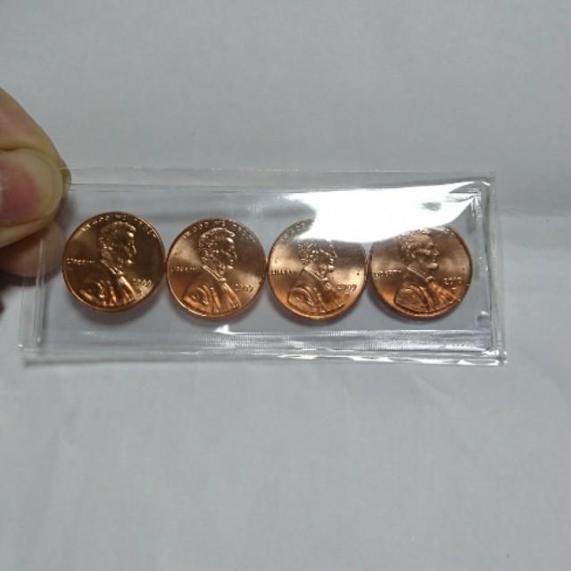 林肯200週年紀念幣全套