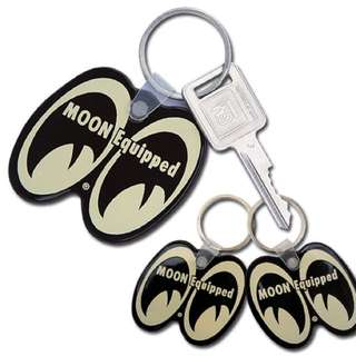 MOON Equipped Key Ring - Black