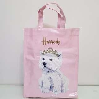 Harrods Princess Westie Shopper Bag