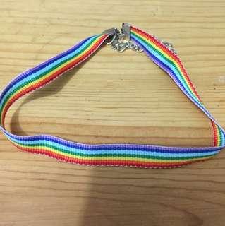 彩虹Choker 頸圈頸繩