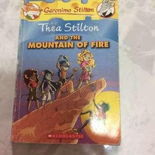 Geronimo Stilton Thea Stilton And The Mountain Of Fire