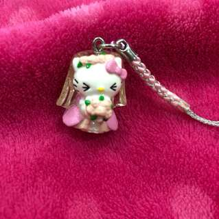 Hello Kitty wedding Keychain