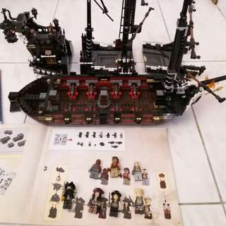 Lego 4195 魔盗王Queen Anne's Revenge Pirates of the Caribbean