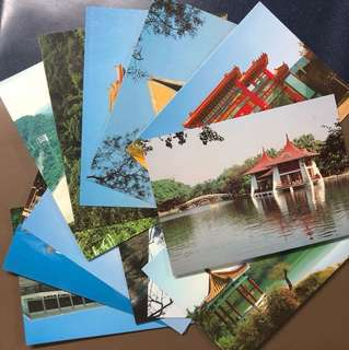 Clearing Stocks: A Set of 12 Taiwan Very Nice Scenery Postcards