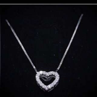 Sk Jewellery Love Necklace