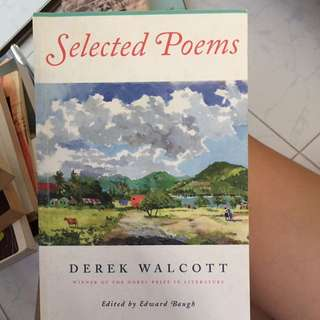 Selected poems derek walcott