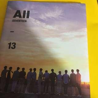 Seventeen專輯連小卡