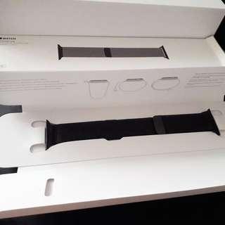 [歡迎出價] 全新 Apple Watch 38 毫米太空黑鋼錶帶 (38mm Space Black Milanese Loop)