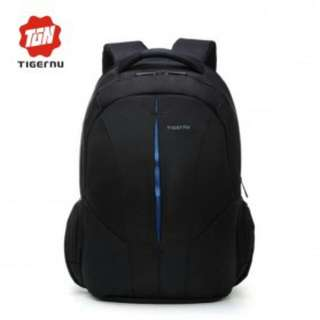 TIGERNU Backpack Waterproof.-  black blue