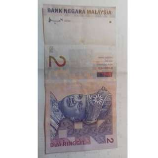 RM 2 note