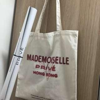 Chanel Mademoiselle環保袋+ poster