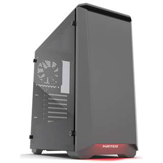 Phanteks P400 Eclipse Tampered Glass (Gun Metal)