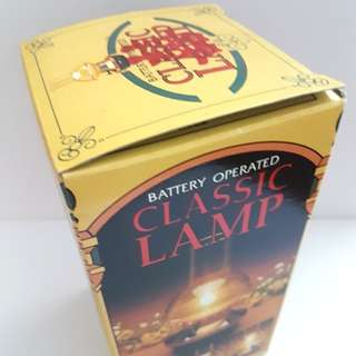Classic lamps (Traditional and can be used for weddings)