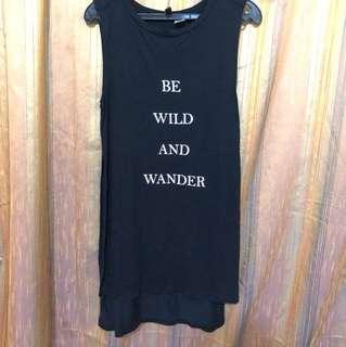 Be wild sleeveless