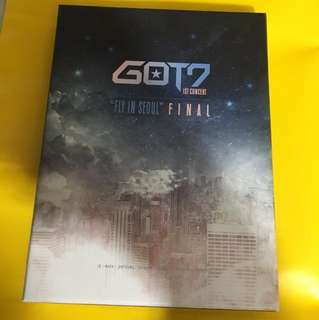 Got7-Fly In Seoul DVD