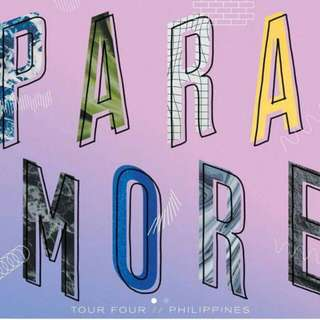 LF 2 Paramore in Manila Tickets