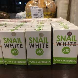 Snail white Acne and whitening