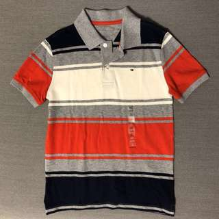 Tommy Hilfiger Boys 8-10 size M polo tee
