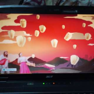 """ACER LOPTOP 15.6"""" CENICRYSTAL LCD"""