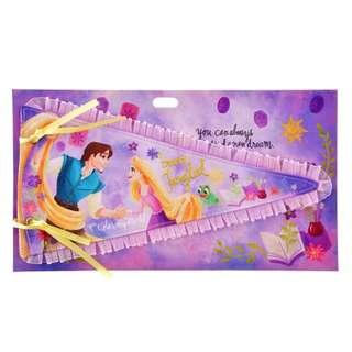 🇯🇵日本代購 迪士尼 Disney 長髮公主 Rapunzel 情人節 三角旗