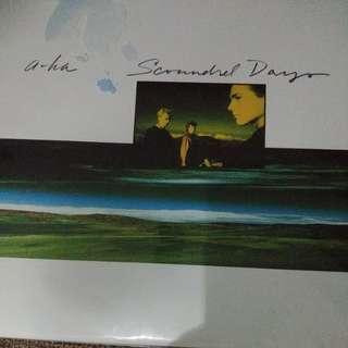Vinyl A-ha scoundrel days
