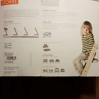 Stokke tripp trapp baby set and 2x cushion