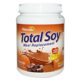 Naturade, Total Soy,正餐代用品,巧克力,(540克)Total Soy Meal Replacement Chocolate