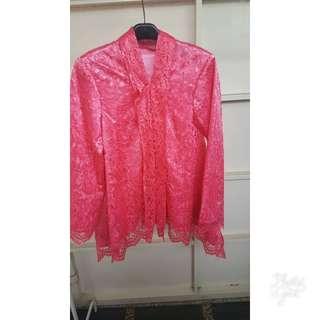 Kebaya Shocking Pink