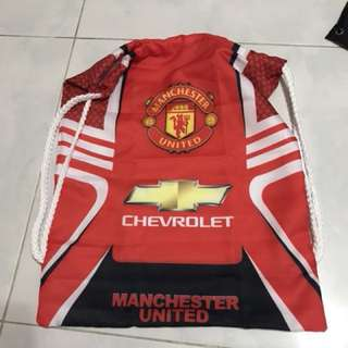 Manchester United draw string bag