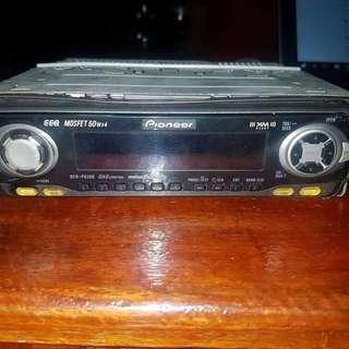 Pioneer automotive head unit/CD player